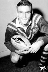 Gasnier represented Australia a record 36 times.