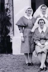 Nursing sisters were evacuated from Singapore before the capitulation but this was to lead to tragedy - as shown by the fates of these sisters of the 2/4th Casualty Clearing Station, 8th Division photographed at Tangog, Singapore, on January 20, 1942.