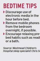Bedtime tips: Encouraging better sleep.