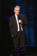 Jon Stewart thrived at a time trust in mainstream media faltered.