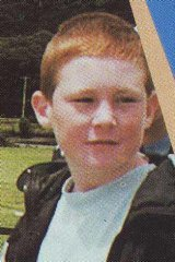 Sean McCarthy at a school camp in 1996