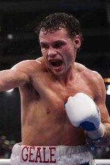 Apple of their eye ... Tasmanian boxer Daniel Geale.