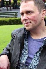 Children's author and illustrator Dav Pilkey.