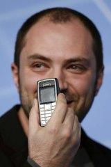 WhatsApp chief executive and co-founder Jan Koum.
