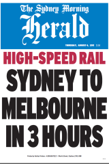 Light rail announcements produce good headlines but little action.