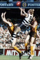 1989: Gary Ablett snr rises to the occasion against Hawthorn.