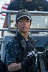 Debut dud ... Rihanna in <i>Battleship</i>.