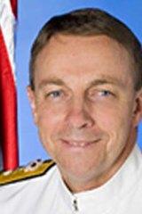 Commodore Bruce Kafer ... sent on leave over cadet sex scandal.