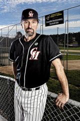 """He has velocity"" … David White, pitching coach of Lewis Thorpe, at the Greenhills Montmorency Baseball Club."