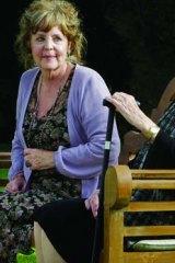 Pauline Collins and Maggie Smith in <i>Quartet</i>.