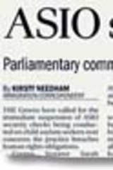 <i>The Age</i> story that forced ASIO's retraction.
