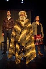 Leader: Jack Charles stars as Aboriginal elder William Barak.