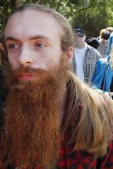 Extra disappointment ... Ruben Werie (foreground) hopes to be cast in <i>The Hobbit</i>.