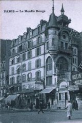 The Moulin Rouge in 1900.