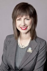 On the rise: Robyn Preston was appointed to the Liberal executive.