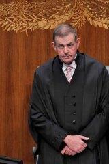 Peter Slipper … no lawyer.