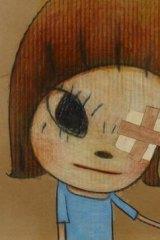 "Yoshitomo Nara's ""Magical Left Hand / Little Stars""."