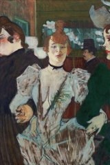 <i>La Goulue entering the Moulin Rouge</i>, 1892.