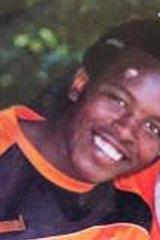 Missing ... Samuel Macharia.