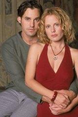 Nicholas Brendon and Emma Caulfield as Xander and Anya in <i>Buffy the Vampire Slayer</i>.