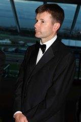 Victoria Racing Club chairman Michael Burn.