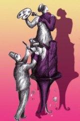 Kerrie Leishman's illustration. <i>For My Career</i>.
