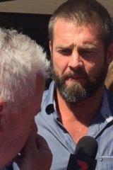 Ben Cousins outside court in December last year.