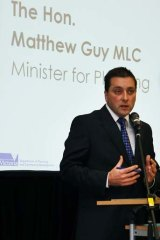 Victorian Multicultural Affairs and Citizenship Minister Matthew Guy.