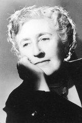 Crime queen: Agatha Christie.