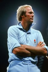 Tony Greig ... an athlete and a gentleman.