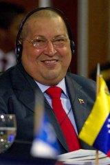 US to blame ... Hugo Chavez.