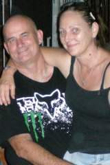 Kogan customer Neil Gill from Queensland with his girlfriend.