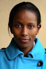 Controversial author: Ayaan Hirsi Ali.