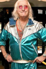 The late Jimmy Savile: British police said he hid behind his fame to assault girls, boys and adult women.