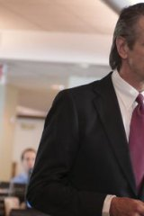 Jeremy Irons plays the amoral chief executive in <i>Margin Call</i>.
