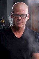 Heston Blumenthal ... working on a sensory computer program for diners booking into his restauarant.