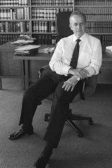 A 1990 file photo of former Deputy Prime Minister Lionel Bowen.