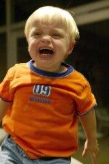 Developmental problems ... shared custody infants more anxious.
