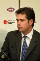 AFL chief operating officer Gillon McLachlan.