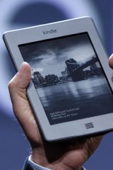 Cheaper option ... the Kindle Touch sports an infrared touchscreen.