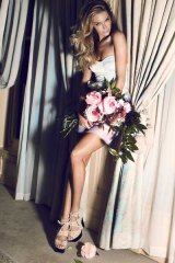 Well heeled... Jennifer Hawkins is the new face of Siren Shoes.