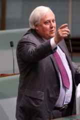 MP and mining magnate Clive Palmer.