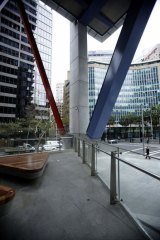 Retail free: The ground floor of 8 Chifley in Sydney's CBD.