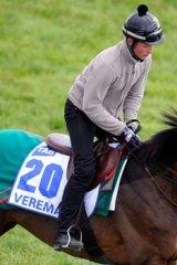 Verema at Werribee on November 4.