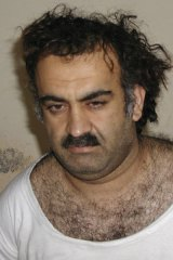 Trial plans now on hold … Khalid Sheikh Mohammed.