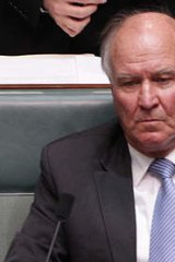 "Independent Tony Windsor: says deal will be ""null and void"" if Julia Gillard goes."