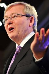 Connected himself to Bob Hawke: Kevin Rudd.