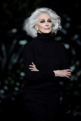 Hair's the thing … Model Carmen Dell'Orefice, still working at 82.