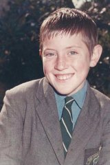John Ellis as a schoolboy.