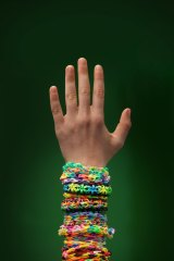 Loom bands, which can be constructed in an almost endless series of colours and patterns, have been embraced by both girls and boys.
